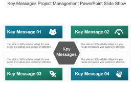 Key Messages Project Management Powerpoint Slide Show