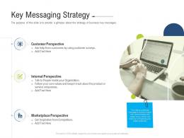 Key Messaging Strategy Brand Upgradation Ppt Summary