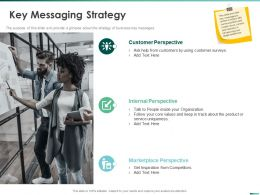 Key Messaging Strategy Core Values Ppt Powerpoint Presentation File Professional