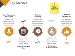 Key Metrics Ppt Examples Professional Templates 1