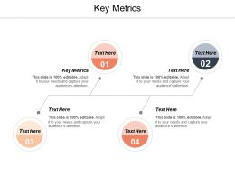 Key Metrics Ppt Powerpoint Presentation Professional Design Templates Cpb