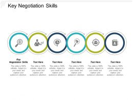 Key Negotiation Skills Ppt Powerpoint Presentation Inspiration Graphics Template Cpb