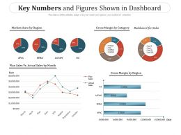 Key Numbers And Figures Shown In Dashboard