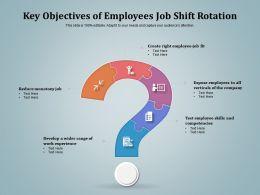 Key Objectives Of Employees Job Shift Rotation