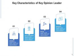 Key Opinion Leader Performed Approaches Process Measures Characteristics