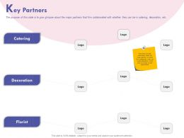 Key Partners Decoration Ppt Powerpoint Presentation Gallery Maker