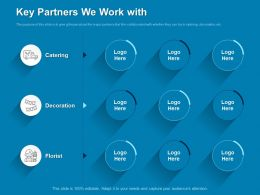 Key Partners We Work With Decoration Ppt Powerpoint Presentation Example