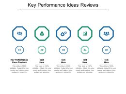 Key Performance Ideas Reviews Ppt Powerpoint Presentation Outline Sample Cpb