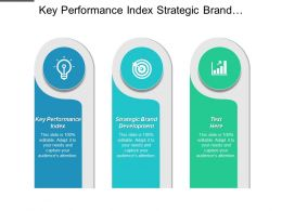 Key Performance Index Strategic Brand Development Motivation Management Cpb