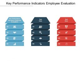 Key Performance Indicators Employee Evaluation Ppt Powerpoint Presentation Styles Cpb
