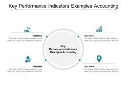 Key Performance Indicators Examples Accounting Ppt Powerpoint Ideas Rules Cpb