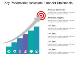 Key Performance Indicators Financial Statements Advanced Analytics Cognitive Computing