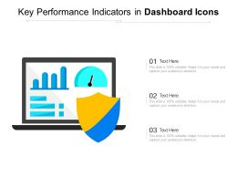 Key Performance Indicators In Dashboard Icons