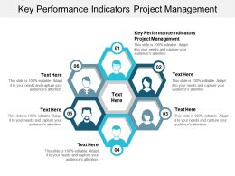 Key Performance Indicators Project Management Ppt Powerpoint Presentation Slides Maker Cpb