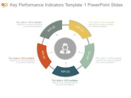 Key Performance Indicators Template1 Powerpoint Slides