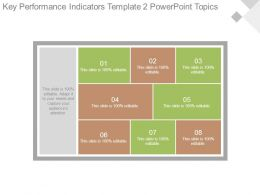 Key Performance Indicators Template2 Powerpoint Topics