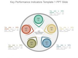 Key Performance Indicators Template 1 Ppt Slide