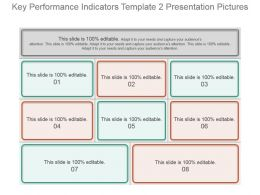 Key Performance Indicators Template 2 Presentation Pictures
