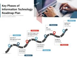 Key Phases Of Information Technology Roadmap Plan
