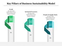 Key Pillars Of Business Sustainability Model