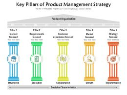 Key Pillars Of Product Management Strategy