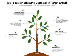 Key Points For Achieving Organization Target Growth