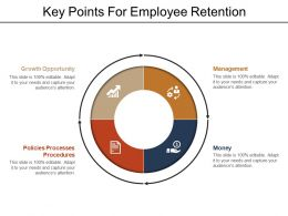 Key Points For Employee Retention Powerpoint Images