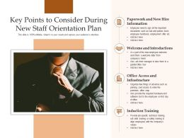 Key Points To Consider During New Staff Orientation Plan