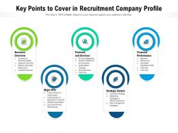 Key Points To Cover In Recruitment Company Profile