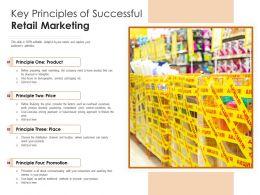 Key Principles Of Successful Retail Marketing