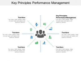 Key Principles Performance Management Ppt Powerpoint Presentation Model Gallery Cpb