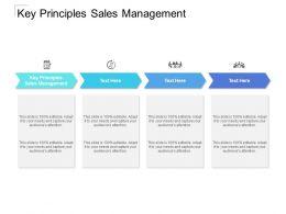 Key Principles Sales Management Ppt Powerpoint Presentation File Slideshow Cpb
