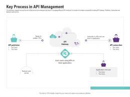 Key Process In API Management Application Programming Interfaces Ecosystem Ppt Portrait