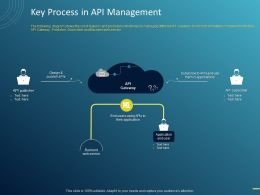 Key Process In API Management Ppt Powerpoint Presentation Portfolio Shapes