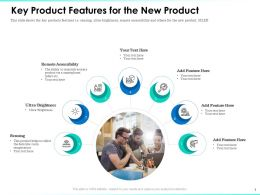 Key Product Features For The New Product Remote Accessibility Ppt Example File
