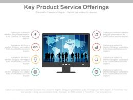 Key Product Service Offerings Ppt Slides