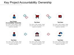 Key Project Accountability Ownership Ppt Powerpoint Presentation Professional Cpb