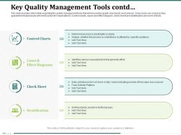 Key Quality Management Tools Contd Check Sheet Ppt Powerpoint Presentation Structure