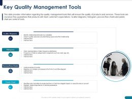 Key Quality Management Tools Variables Ppt Powerpoint Presentation Graphics