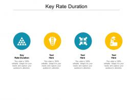 Key Rate Duration Ppt Powerpoint Presentation File Show Cpb