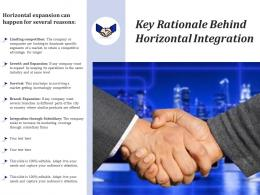 Key Rationale Behind Horizontal Integration