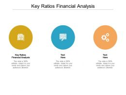 Key Ratios Financial Analysis Ppt Powerpoint Presentation Summary Picture Cpb