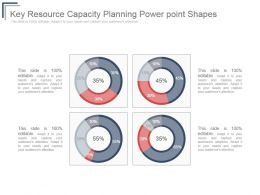 Key Resource Capacity Planning Power Point Shapes