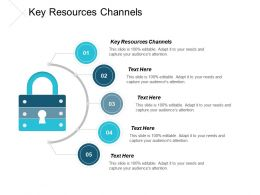 Key Resources Channels Ppt Powerpoint Presentation Styles Pictures Cpb