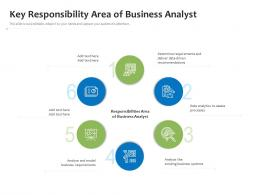 Key Responsibility Area Of Business Analyst