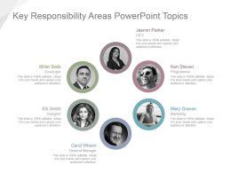 Key Responsibility Areas Powerpoint Topics