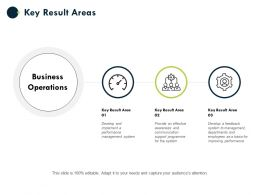 Key Result Areas Business Operations Ppt Powerpoint Presentation Layouts Rules