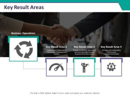 Key Result Areas Ppt Summary Background Designs