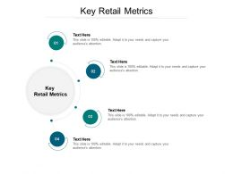 Key Retail Metrics Ppt Powerpoint Presentation Slides Background Designs Cpb