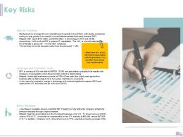 Key Risks Capabilities Ppt Powerpoint Presentation Slides Pictures